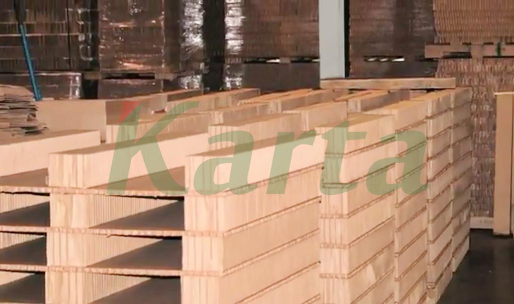 Pallet tổ ong, giấy tổ ong, giấy nẹp góc, tải hàng hóa, khả năng chịu lực