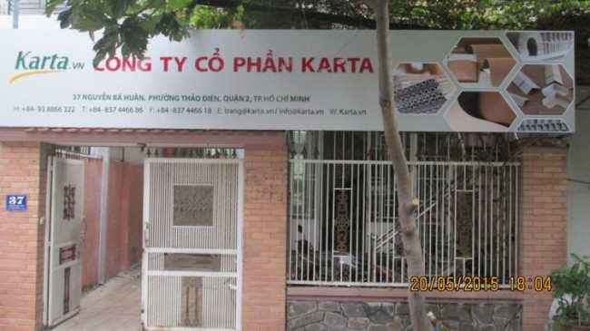 Công ty cổ phần Karta, Lưu Vân Trang, giá trị thương hiệu, giấy tổ ong, thanh V, nẹp góc