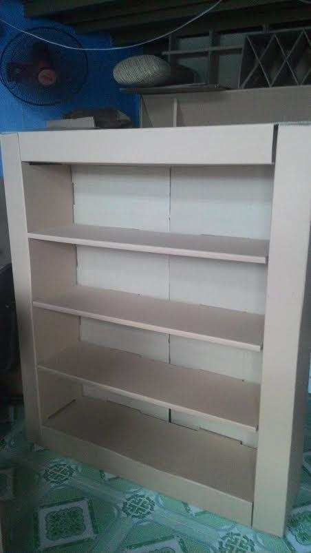 sản phẩm kệ sách, carton, bao bì carton, nội thất, handmade, tái chế giấy, karta, công ty karta