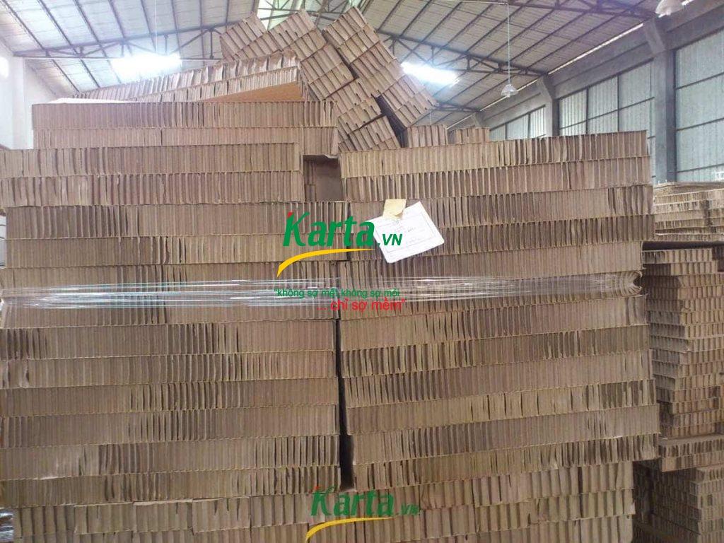 ruột giấy tổ ong karta