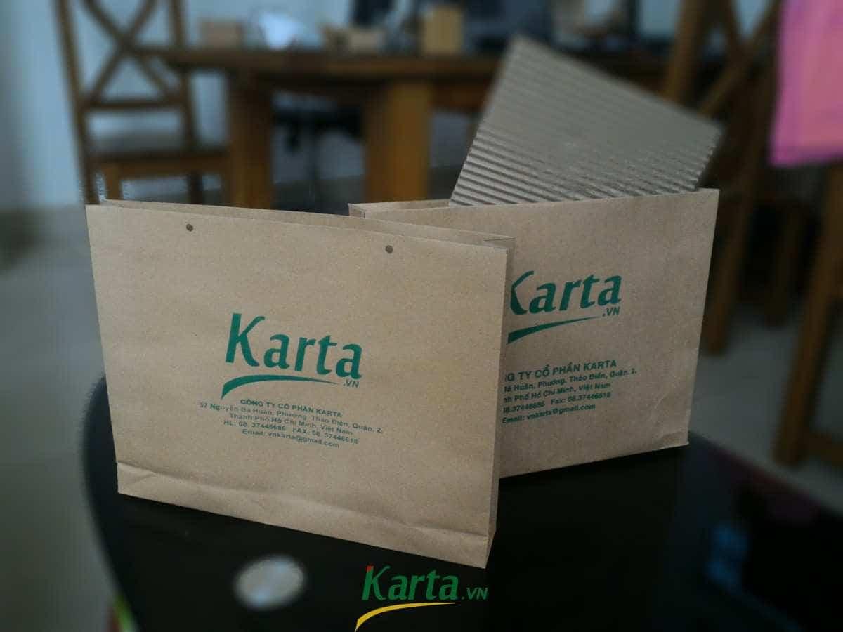 Túi làm bằng giấy, túi giấy, thân thiện môi trường