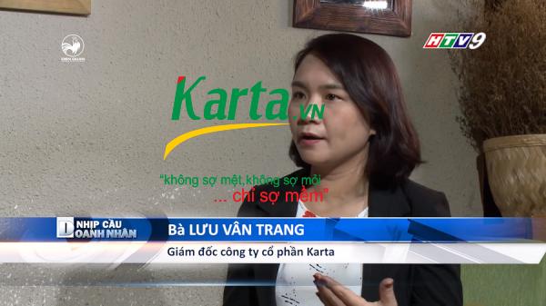 Giám đốc Lưu Vân Trang chia sẻ về tầm nhìn về việc phải thân thiện và bảo vệ môi trường