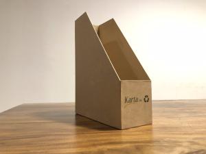 khay đựng hồ sơ làm từ giấy tái chế thân thiện môi trường