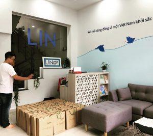 LIN và Karta hợp tác dòng văn phòng phẩm làm từ giấy tái chế